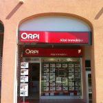 Enseigne de franchise Orpi